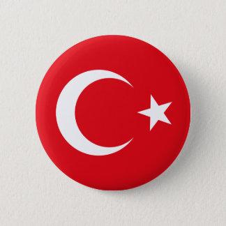 Die Türkei-Flaggen-Knopf Runder Button 5,1 Cm