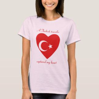 Die Türkei-Flaggen-Schatz-T - Shirt