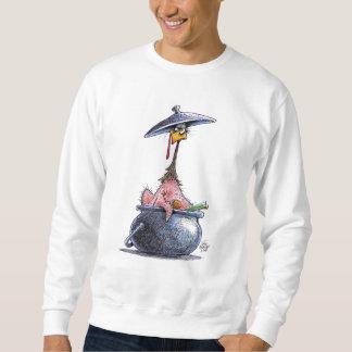 Die Türkei-Fleischpastete-grundlegendes Sweatshirt