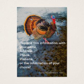 Die Türkei in Schnee 2 Visitenkarte