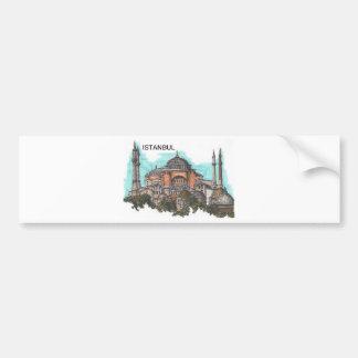 Die Türkei Istanbul Hagia Sophia (durch St.K) Autoaufkleber