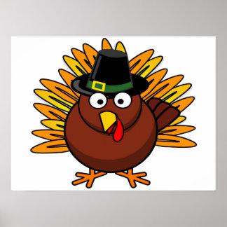Die Türkei-Plakat für Feiertags-Dekoration Poster