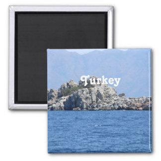 Die Türkei Quadratischer Magnet