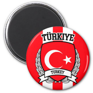 Die Türkei Runder Magnet 5,1 Cm