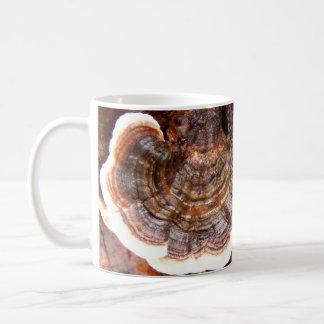 Die Türkei-Schwanz-Pilz-Tasse Kaffeetasse