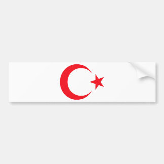 Die Türkei-Wappen Autoaufkleber