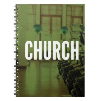 Die Turnhalle ist meine Kirche - der motivierend Notizblock
