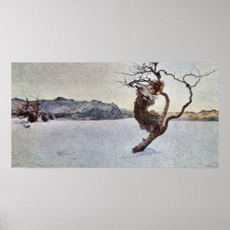 Die Übelmütter durch Giovanni Segantini Plakat
