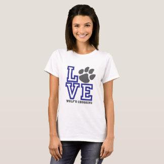 Die Überfahrt LIEBE Wolfs T-Shirt