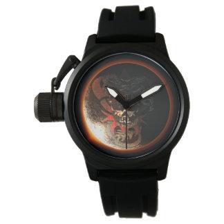 Die Uhr 2017 der Drache-Schädel-Eklipse-Männer