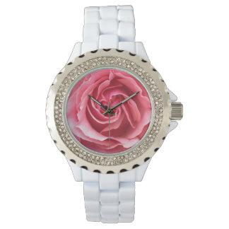 Die Uhr der Frau kundenspezifische Rhinestones mit