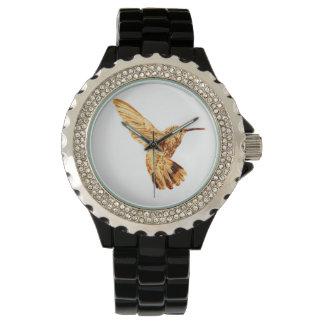 Die Uhr der Goldkolibri-Frauen