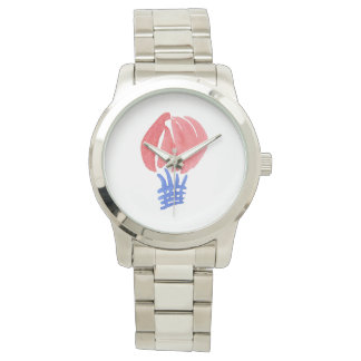 Die Uhr der Luft-Ballon-Frauen