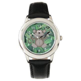 Die Uhr des Affe-Zeit-Kindes