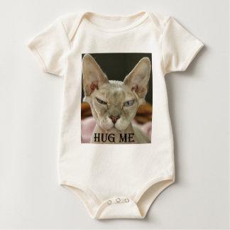 Die Umarmung ich Katze Baby Strampler