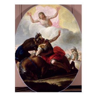Die Umwandlung von St Paul Postkarte