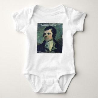"""Die Unmenschlichkeits-"""" Zitat-Geschenke Robert Baby Strampler"""