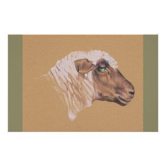 Die unwirschen Schafe Briefpapier
