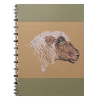 Die unwirschen Schafe Notizblock