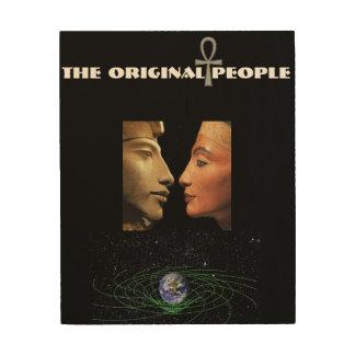 Die ursprüngliche Leute-Kunst Holzwanddeko
