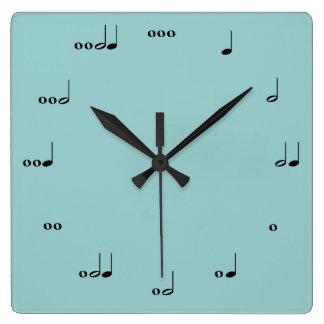 Die ursprüngliche Musik-Anmerkungs-Uhr Uhren
