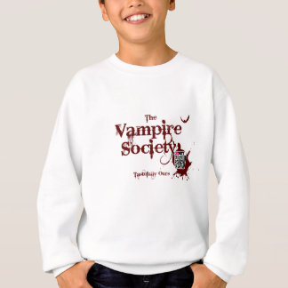 Die Vampirs-Gesellschaft - vergrößerte Sweatshirt