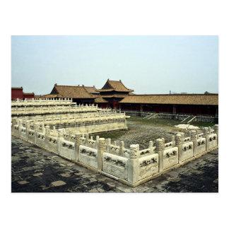 Die verbotene Stadt, Peking, China Postkarten