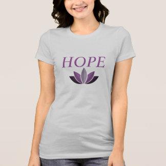 Die Verbreitungs-Hoffnungs-Doppeltes der Frauen T-Shirt