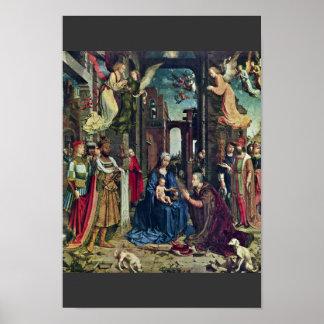 Die Verehrung der Könige bis Januar Gossaert (best Plakatdrucke