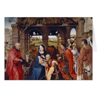 Die Verehrung der Weisen, c.1455 Karte