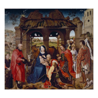 Die Verehrung der Weisen, c.1455 Poster