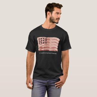Die Vereinigten Staaten des Speckes T-Shirt