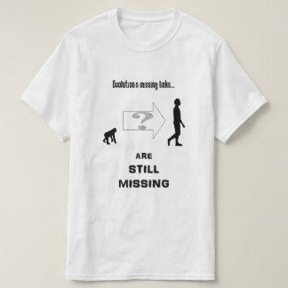 Die vermissten Verbindungen der Evolution T-Shirt