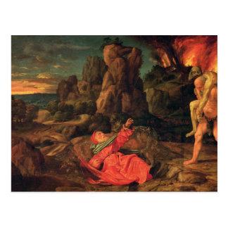Die Versuchung von St Anthony, c.1530 Postkarte