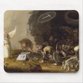 Die Versuchung von St Anthony (Platte) Mousepad