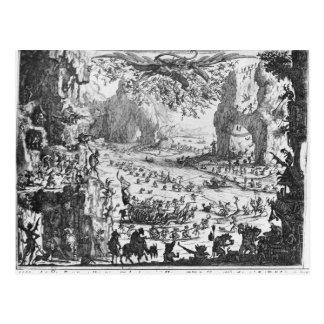 Die Versuchung von St Anthony Postkarte