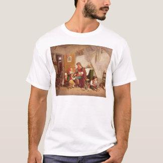 Die verwitwete Familie, 19. Jahrhundert T-Shirt