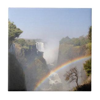 Die Victoriafälle-Regenbogen Fliese