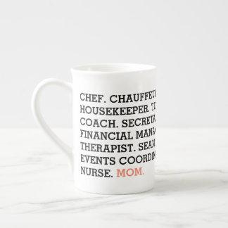 Die vielen Jobs der Mamma-Tasse Porzellantasse