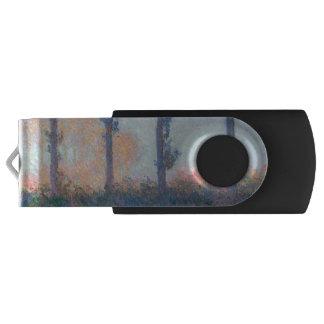Die vier Bäume durch Claude Monet USB Stick