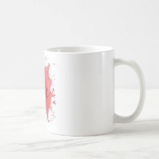 Die vier Elemente: Feuer Kaffeetasse