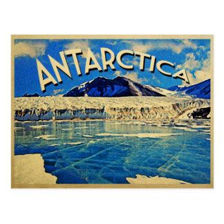 Die Vintage Antarktis Südpol Postkarte