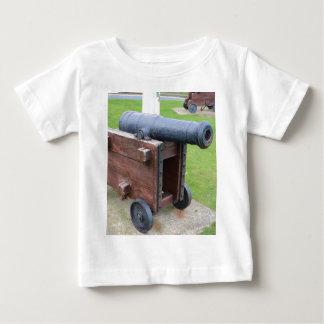 Die Vintage Kanone des Schiffs Baby T-shirt