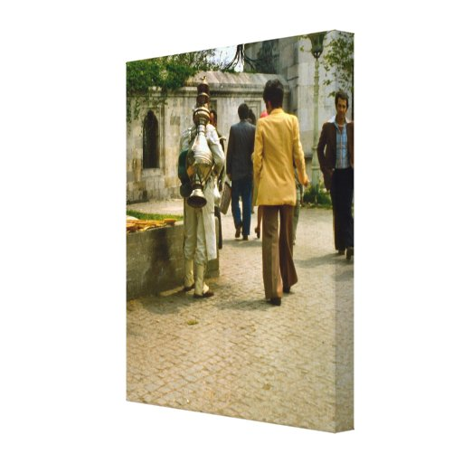 Die Vintage Türkei, Istanbul, türkischer coffe Ver Leinwanddruck