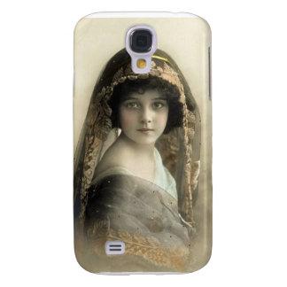 Die Vintagen Porträts der Kinder Galaxy S4 Hülle