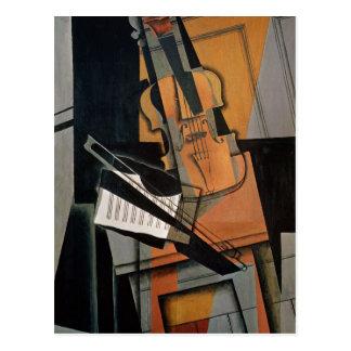 Die Violine, 1916 Postkarte