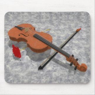Die Violine u. die Rose: Kundenspezifisches Mousepad
