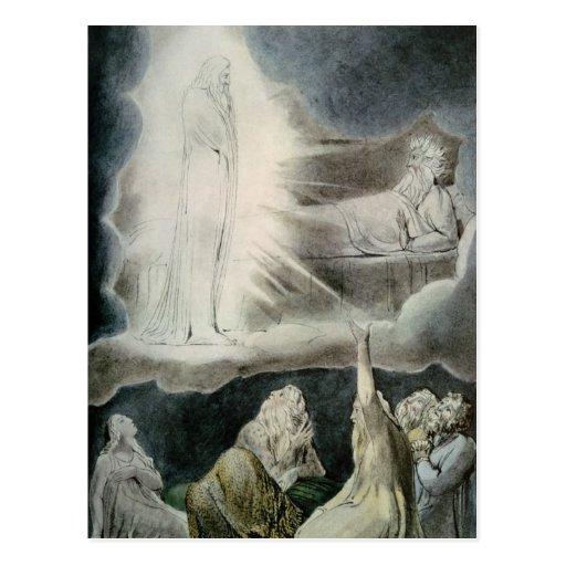Die Vision von Eliphaz, 1825 Postkarten