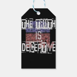 Die Wahrheit ist trügerisches 1 Geschenkanhänger