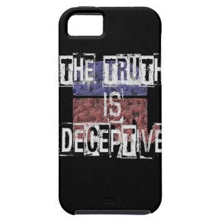 Die Wahrheit ist trügerisches 1 iPhone 5 Etui